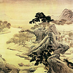 Chinese artists of the Middle Ages - Yuan Yao [袁耀 - 桃源图]