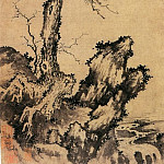 Chinese artists of the Middle Ages - Sheng Mao [盛懋 - 松石图]