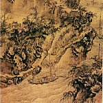 Chinese artists of the Middle Ages - Shangguan Zhou [上官周 - 艚篷出峡图]
