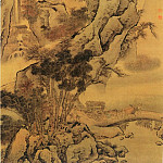Chinese artists of the Middle Ages - Gu Yi [顾峄 - 秋山行旅图]
