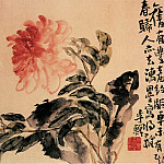 Chinese artists of the Middle Ages - Li Chan [李蝉 - 花卉图(之—、二)]