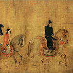 Chinese artists of the Middle Ages - Zhang Xuan [张萱 - 虢国夫人游春图]