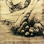 Chinese artists of the Middle Ages - Luo Mu [罗牧 - 春溪归帆图]