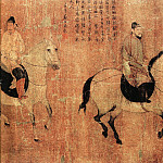 Chinese artists of the Middle Ages - Unknown [佚名 - 游骑图]