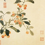 Chinese artists of the Middle Ages - Xiang Sheng Mo [项圣谟 - 花卉图(之一、二)]