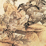 Chinese artists of the Middle Ages - Yuan Ji [原济 - 对菊图]