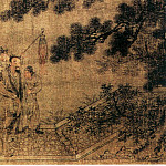 Chinese artists of the Middle Ages - Unknown [佚名 - 夜宴图(之一、二)]