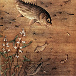 Chinese artists of the Middle Ages - Miao Fu [缪辅 - 鱼藻图]