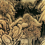 Chinese artists of the Middle Ages - Wen Ke [文柯 - 寒江渔隐图]