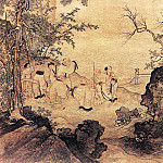 Chinese artists of the Middle Ages - Zhang Wo [张渥 - 瑶池仙乐图]