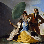 Part 2 Prado Museum - Goya y Lucientes, Francisco de -- El quitasol