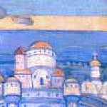 Garden of Eden. The sketch for the painting of the church in Talashkino, Roerich N.K. (Part 1)