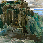 Roerich N.K. (Part 3) - The Last castle (sketch stump)