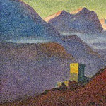 Himalayas. Slope. Tower, Roerich N.K. (Part 1)