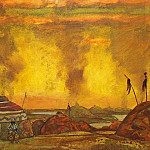 Polovetsky mill. 2nd action, Roerich N.K. (Part 1)