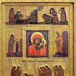 Perm iconostasis. Marian feast days, Roerich N.K. (Part 1)