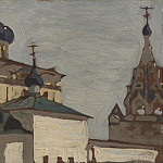 Roerich N.K. (Part 1) - Yaroslavl. Church of the Nativity of the Virgin