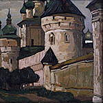 Roerich N.K. (Part 1) - Rostov Veliky ( Church of St. John the Evangelist)