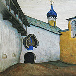 Pskov Monastery of the Caves, Roerich N.K. (Part 1)