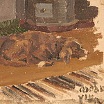 Roerich N.K. (Part 1) - Dog gone (sketch)