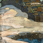 Town winter, Roerich N.K. (Part 1)