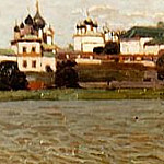 Rostov. View of the Kremlin from Lake Nero, Roerich N.K. (Part 1)