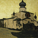 Assumption Paromenskaya Church Pskov, Roerich N.K. (Part 1)