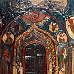 Yaroslavl. The porch of the Church of St. John the Baptist, Roerich N.K. (Part 1)