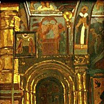 Rostov. Interior of the Church of the Savior , Roerich N.K. (Part 1)