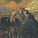 Castle. Ruins, Roerich N.K. (Part 1)
