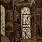 Roerich N.K. (Part 1) - Yaroslavl. The interior of the Church of the Epiphany