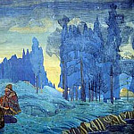 Roerich N.K. (Part 1) - Pomoryane . Evening (Study for mural)