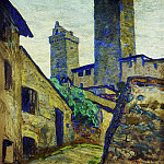 Of San Gimignano , Roerich N.K. (Part 1)