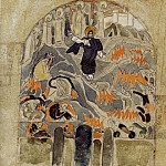 Roerich N.K. (Part 1) - Resurrection. Descent into Hell (mural sketch for church)