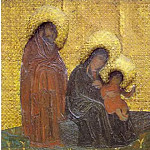 Perm iconostasis. Marian feast days. Adoration of the Magi. Holy Family, Roerich N.K. (Part 1)