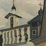 Pechora. Large belfry, Roerich N.K. (Part 1)