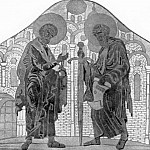 Roerich N.K. (Part 1) - Saints Peter and Paul (mosaic sketch)