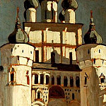 Rostov. Entrance to the Kremlin, Roerich N.K. (Part 1)