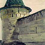 Kostroma. Tower Hypatius convent, Roerich N.K. (Part 1)