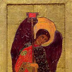 Perm iconostasis. Angel Gabriel, Roerich N.K. (Part 1)