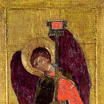 Perm iconostasis. Archangel Michael, Roerich N.K. (Part 1)