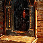 Rostov. The door to the church on Ishna, Roerich N.K. (Part 1)