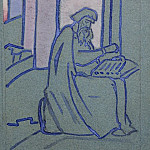 Roerich N.K. (Part 1) - Bayan (Sketch of a panel)