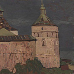 Roerich N.K. (Part 1) - Rostov. Towers princely chambers