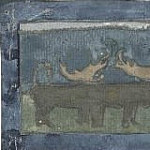 Roerich N.K. (Part 1) - North. Deer (Sketch for the frieze in Talashkino)
