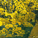 Park autumn, Roerich N.K. (Part 1)