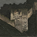 Of the Pechora. Monastery walls and towers of the, Roerich N.K. (Part 1)