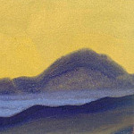 Roerich N.K. (Part 6) - Himalayas # 82 Dawn purple hill