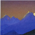 Roerich N.K. (Part 6) - # 67 Himalaya mountains chain purple