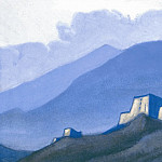 Roerich N.K. (Part 6) - Tibet # 71 (Tibet. Castle Mountain)